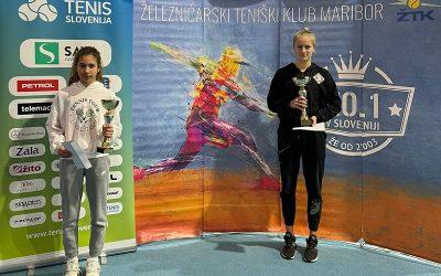Anamarija Žnuderl državna prvakinja v kategoriji U16
